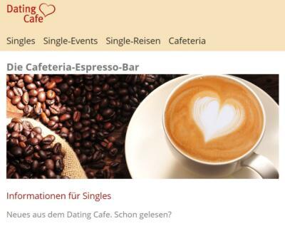 Datingcafe.de - Cafeteria