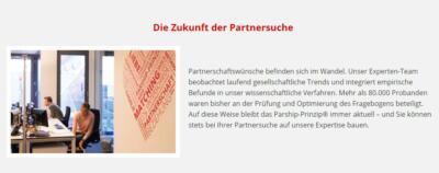 Parship.de - die Zukunft der Partnersuche