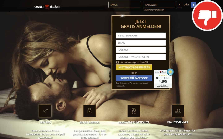 SucheDates.de Erfahrungen Abzocke