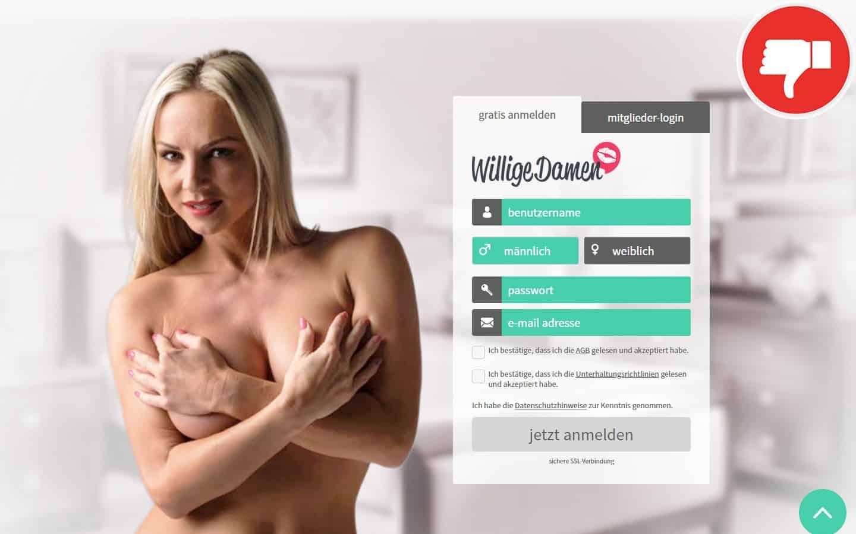 WilligeDamen.com Erfahrungen Abzocke