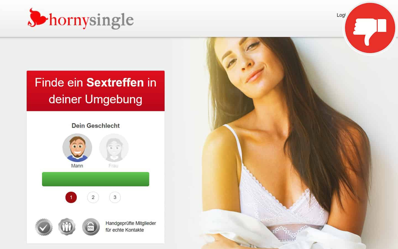 Horny-Single.com Erfahrungen Abzocke