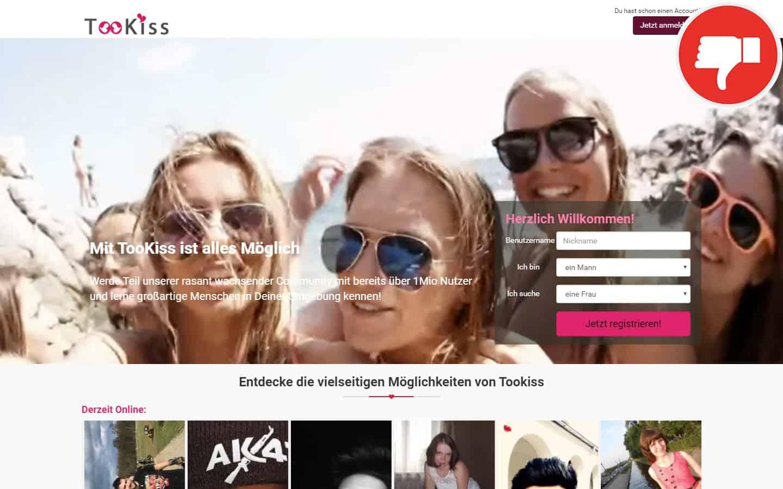 TooKiss.com Erfahrungen Abzocke