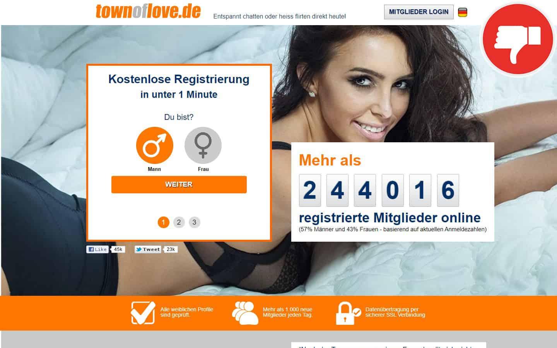 TownOfLove.de Erfahrungen Abzocke