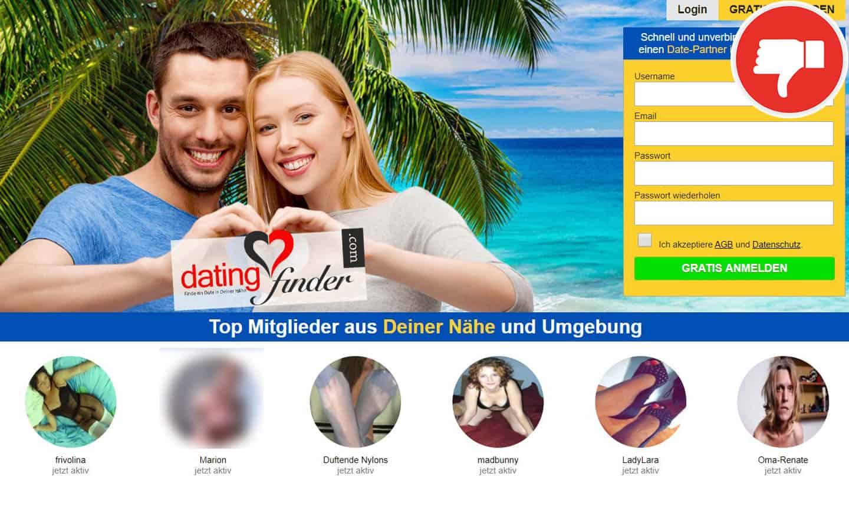 Dating-Finder.com Erfahrungen Abzocke