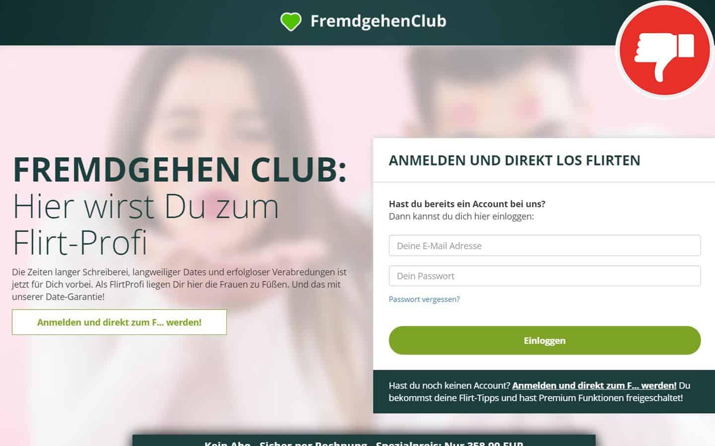 FremdgehenClub.com Erfahrungen Abzocke