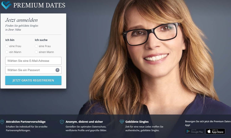 Testsieger: Premium Dates - Partnervermittlung