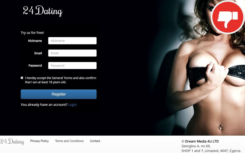 24-Dating.com Erfahrungen Abzocke