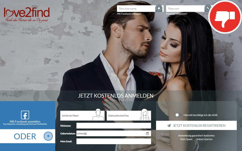 Love2Find.net Erfahrungen Abzocke