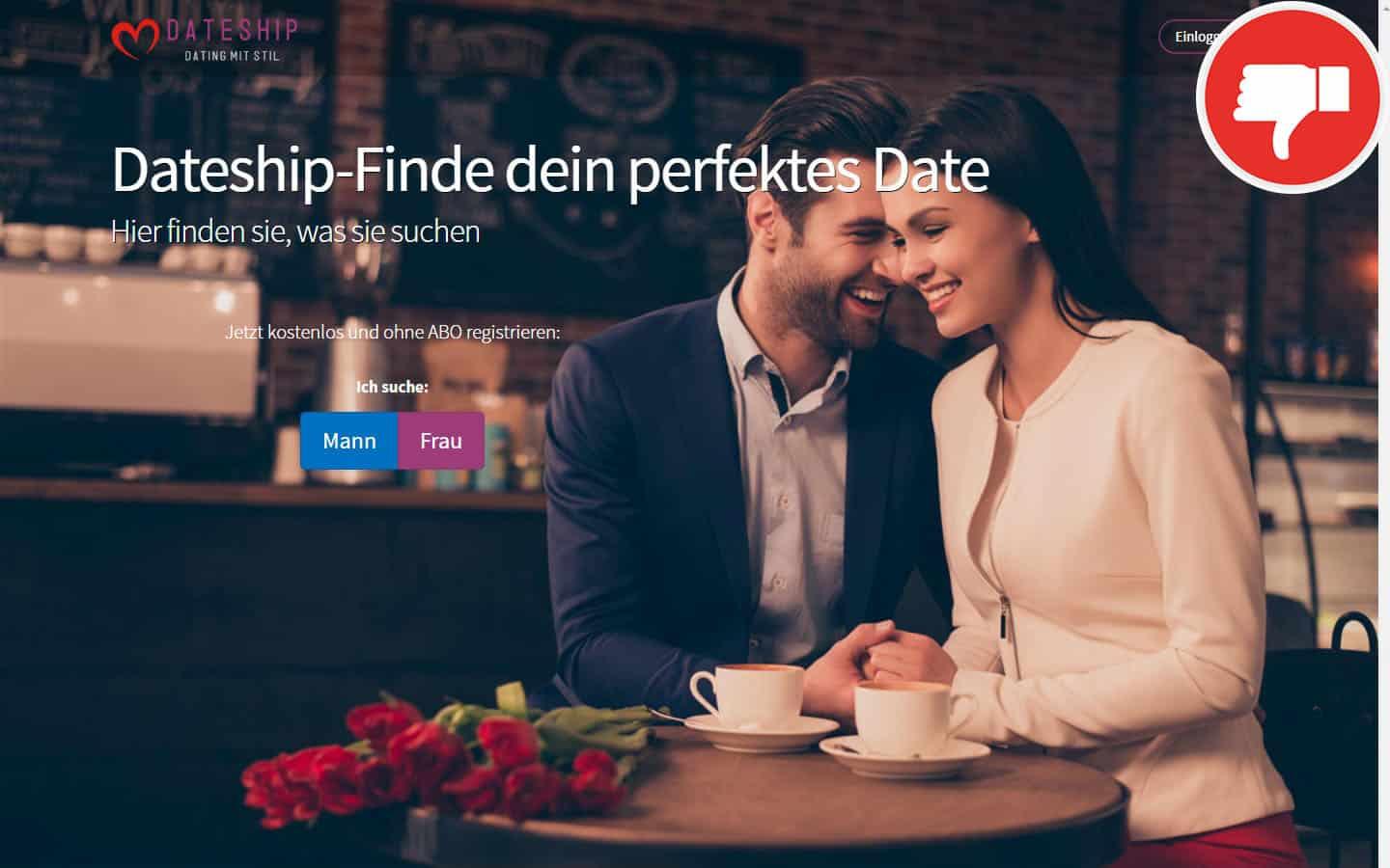 DateShip.de Erfahrungen Abzocke