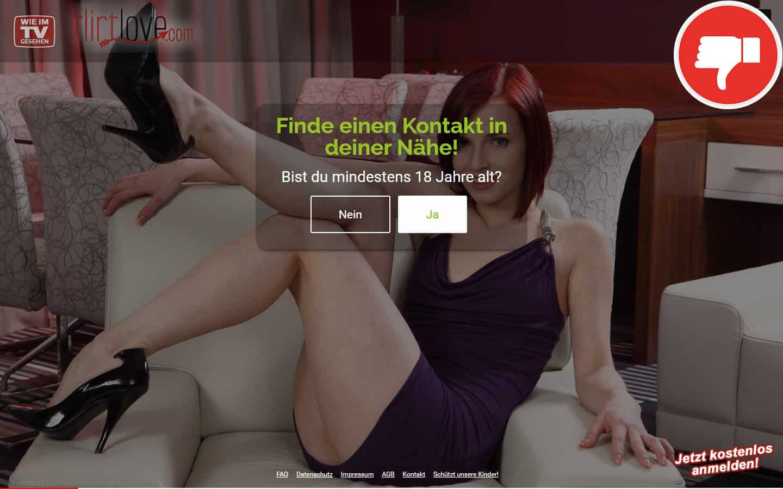 FlirtLove.com Erfahrungen Abzocke