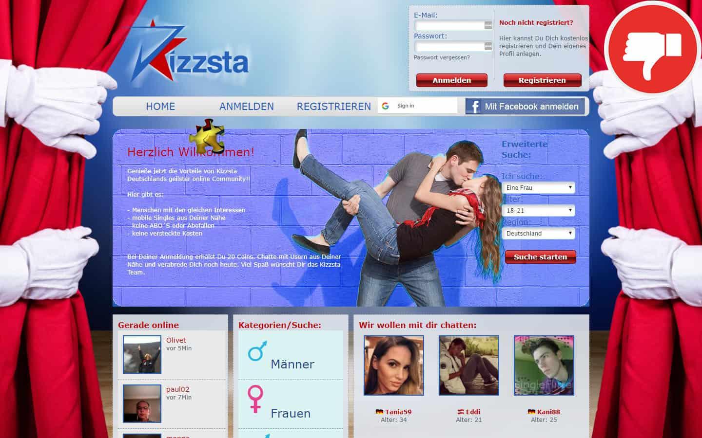 Kizzsta.com Erfahrungen Abzocke