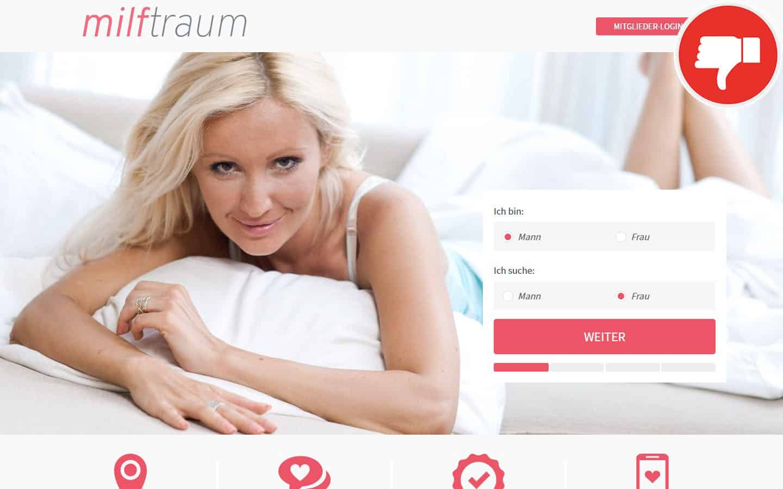 MilfTraum.com Erfahrungen Abzocke