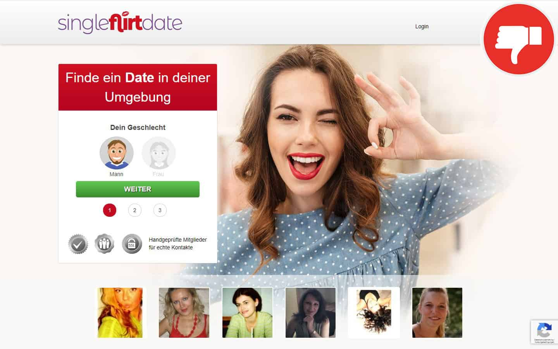 SingleFlirtDate.com Erfahrungen Abzocke