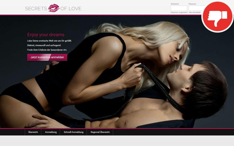 Secrets-Of-Love.de Erfahrungen Abzocke