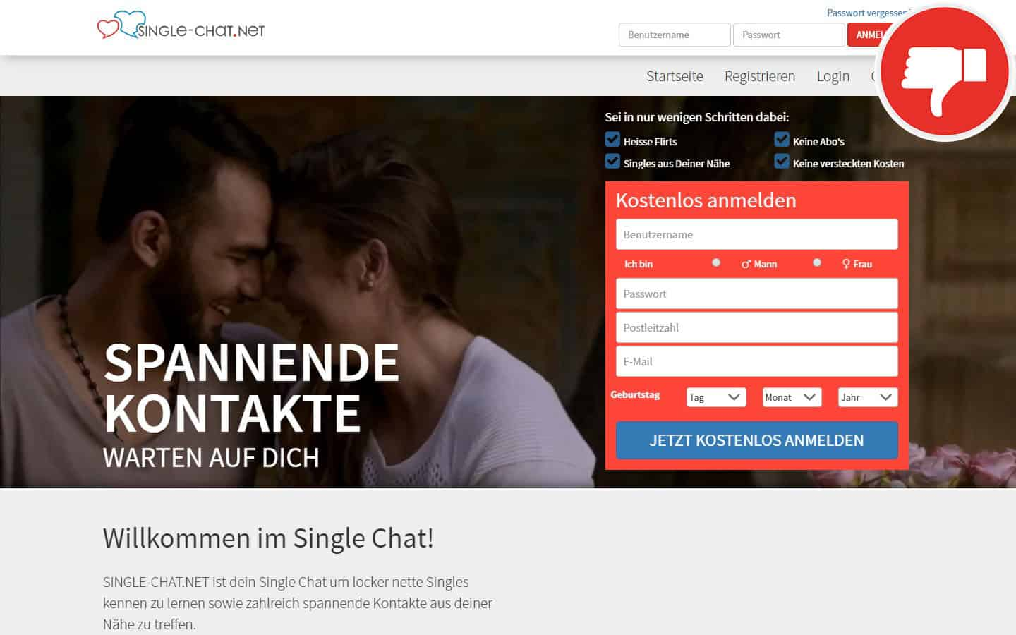 Single-Chat.Net Erfahrungen