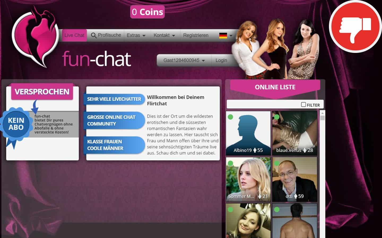 Fun-Chat.com Erfahrungen Abzocke