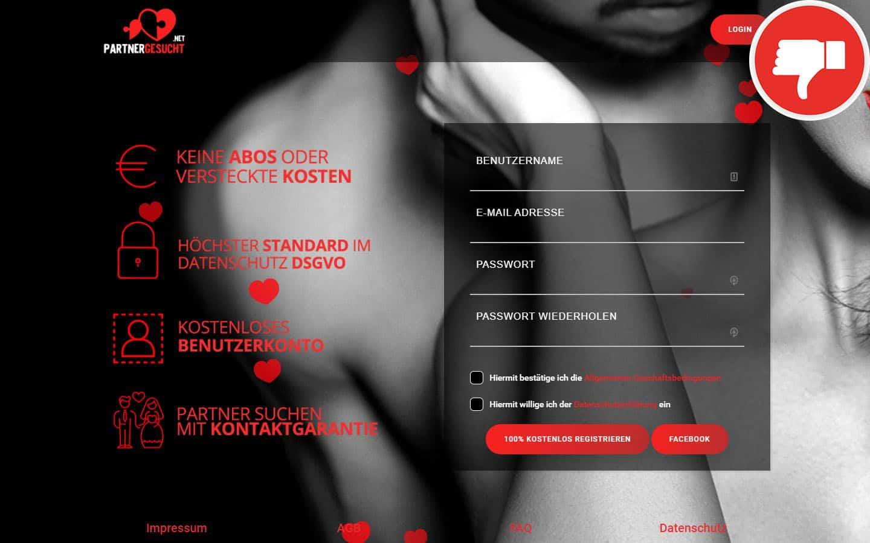 PartnerGesucht.net Erfahrungen Abzocke