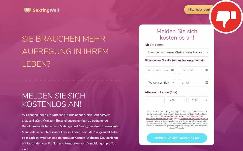 SextingWelt.com Erfahrungen Abzocke