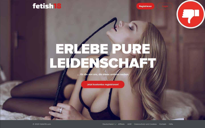 Fetish18.com Erfahrungen Abzocke