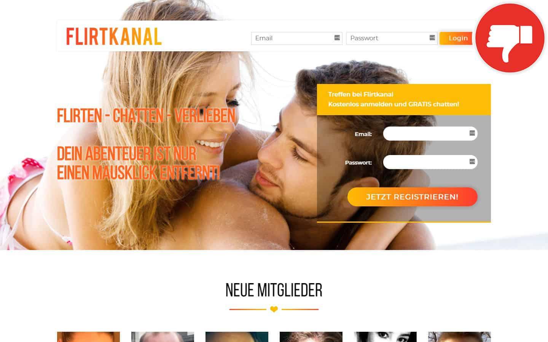 FlirtKanal.com Erfahrungen Abzocke