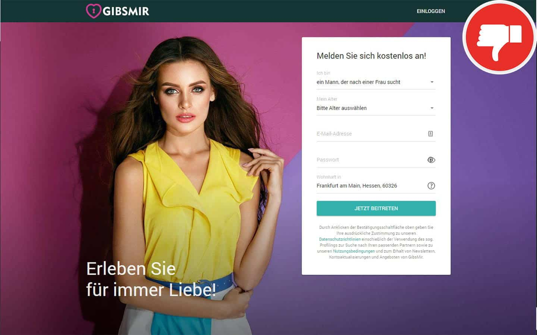 GibsMir.com Erfahrungen Abzocke