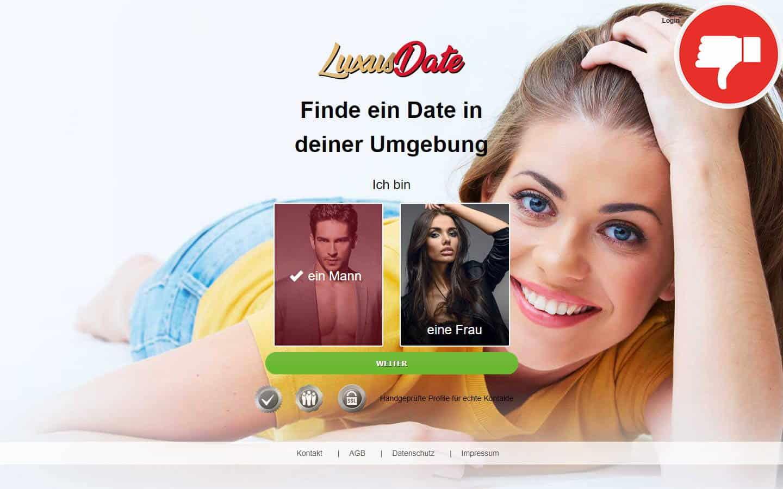 LuxusDate.net Erfahrungen Abzocke