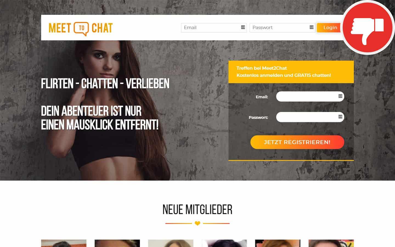 Meet2Chat.com Erfahrungen Abzocke