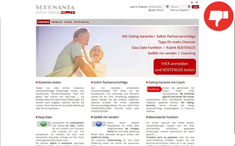 Schonanta.com Erfahrungen Abzocke