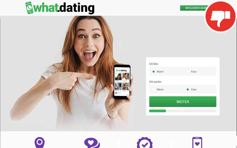What.Dating Erfahrungen Abzocke