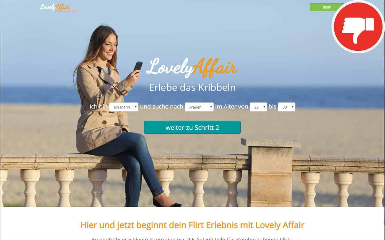 Lovely-Affair.com Erfahrungen Abzocke