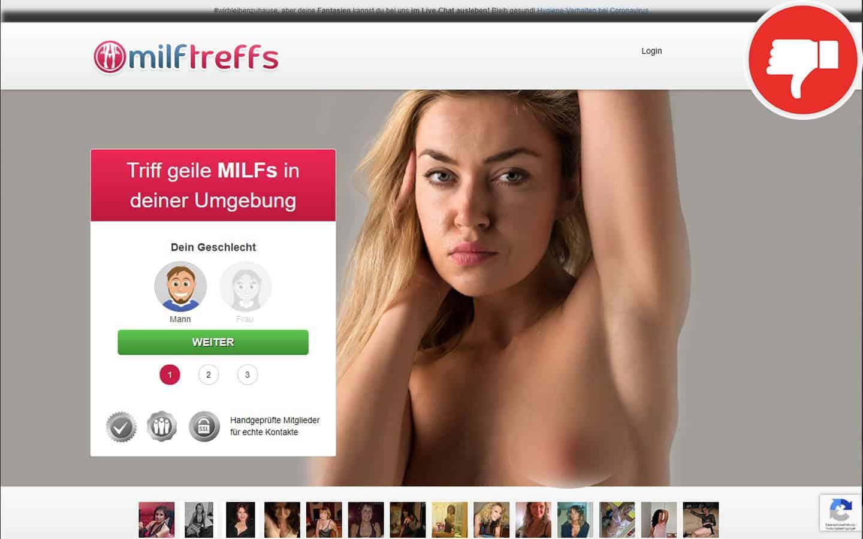 MilfTreffs.com Erfahrungen Abzocke