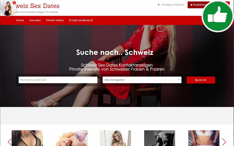 SchweizSexDates.ch Erfahrungen Abzocke