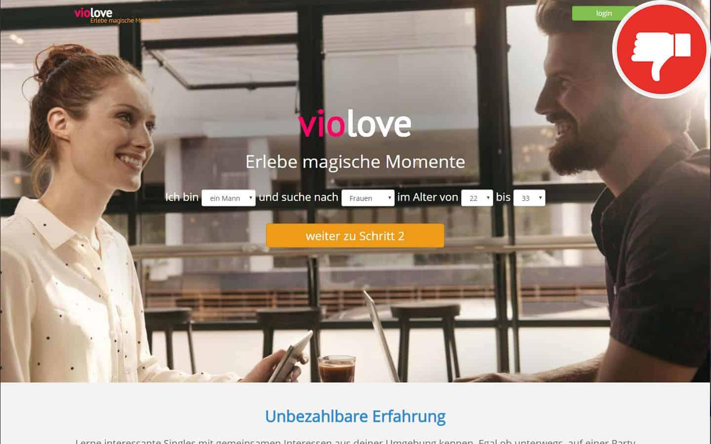 VioLove.de Erfahrungen Abzocke