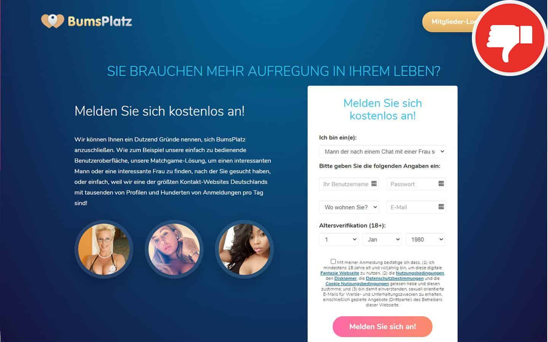 BumsPlatz.com Erfahrungen Abzocke