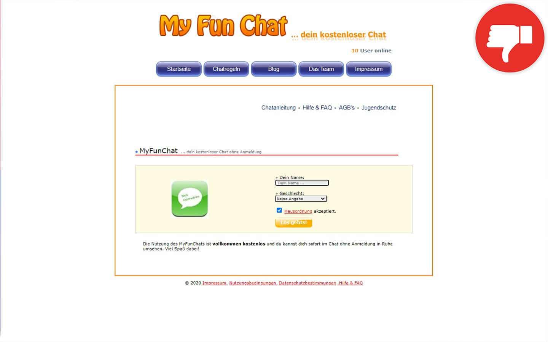 MyFunChat.de Erfahrungen Abzocke