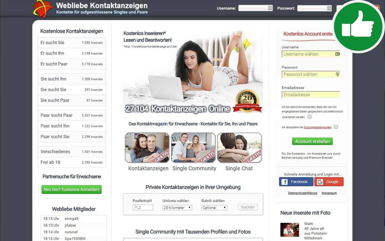 WebLiebe.de Erfahrungen Abzocke