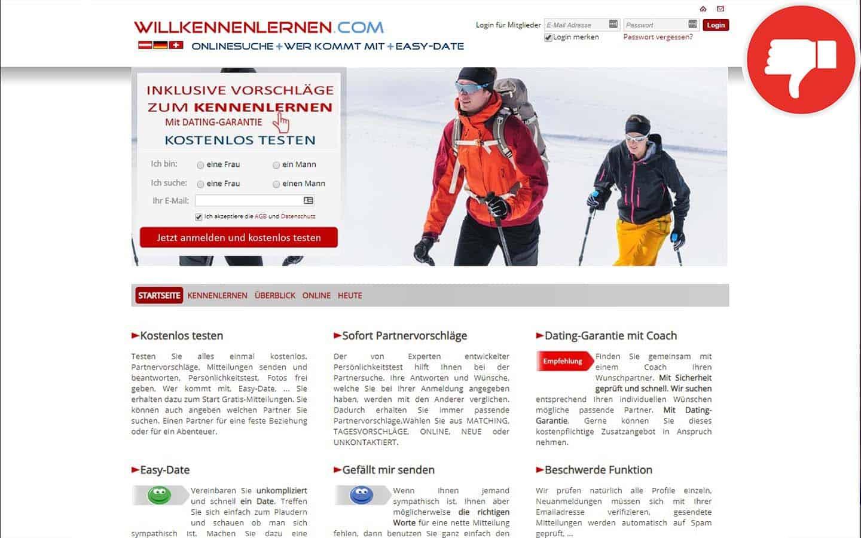 WillKennenlernen.com Erfahrungen Abzocke