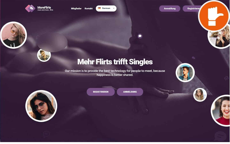 MoreFlirts.com Erfahrungen Abzocke