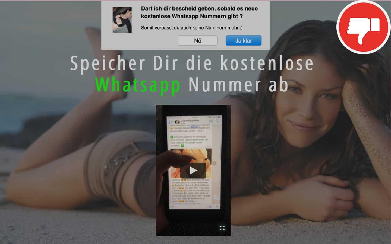 WhatsPartners.com Erfahrungen Abzocke
