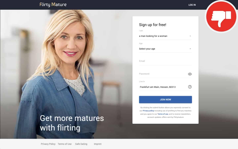 FlirtyMature.com Erfahrungen Abzocke