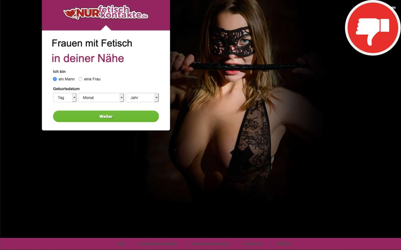 NurFetischKontakte.de Erfahrungen Abzocke