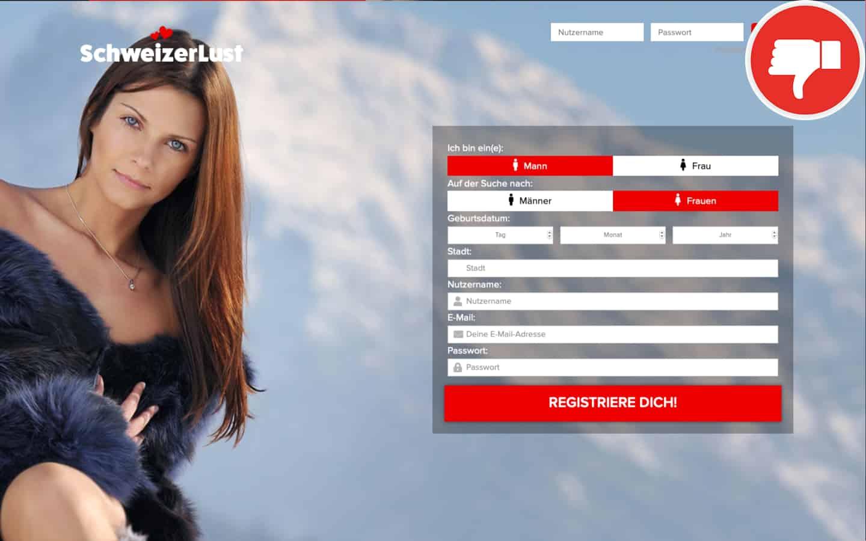 SchweizerLust.com Erfahrungen Abzocke