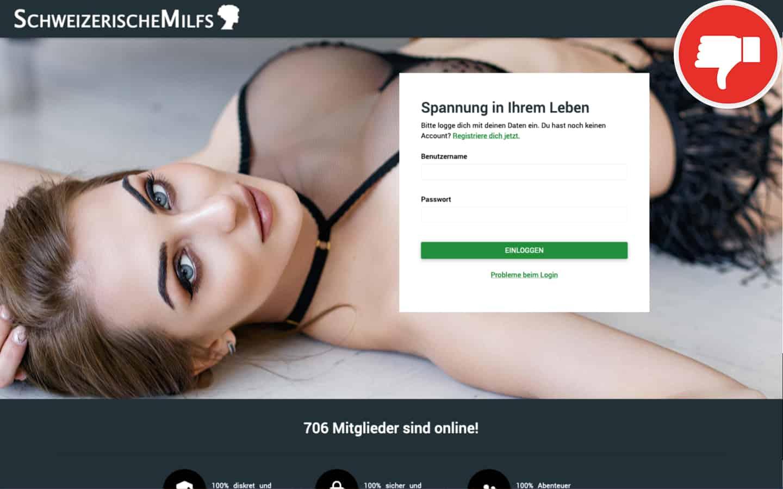 SchweizerischeMilfs.com Erfahrungen Abzocke