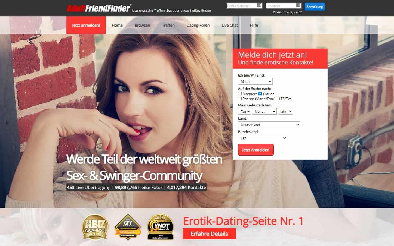 Testsieger: AdultFriendFinder - Casual Dating