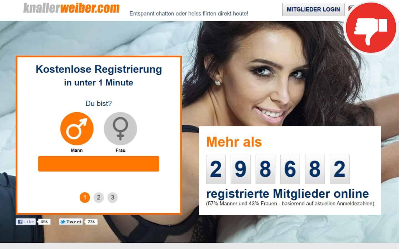 KnallerWeiber.com Erfahrungen Abzocke