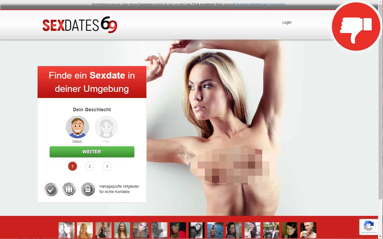 SexDates69.com Erfahrungen Abzocke