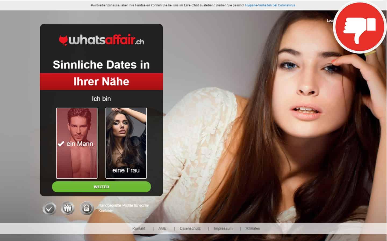 WhatsAffair.ch Erfahrungen Abzocke