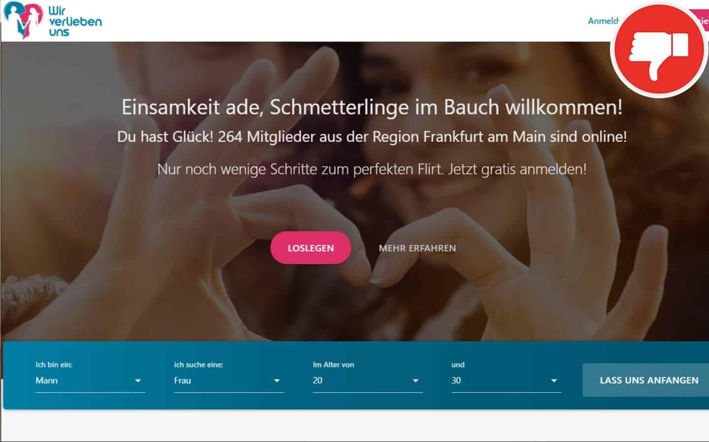 WirVerliebenUns.de Erfahrungen Abzocke