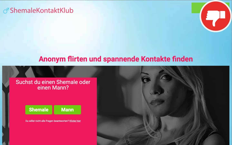 ShemaleKontaktClub.com Erfahrungen Abzocke