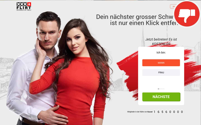 XXXFlirt.ch Erfahrungen Abzocke